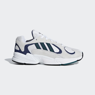 Chaussure Yung 1 Ftwr White / Noble Green / Dark Blue G27031