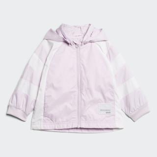 Cortavientos EQT Aero Pink/White CW4729