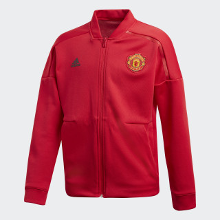 Manchester United adidas Z.N.E. jakke Real Red CW7669
