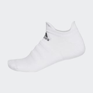 Medias Alphaskin Lightweight Cushioning No-Show WHITE/BLACK CV7693