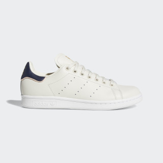 Chaussure Stan Smith Beige / Chalk White / Collegiate Navy B41600