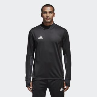 Camiseta manga larga entrenamiento Tiro 17 Black/Dark Grey/White BK0292