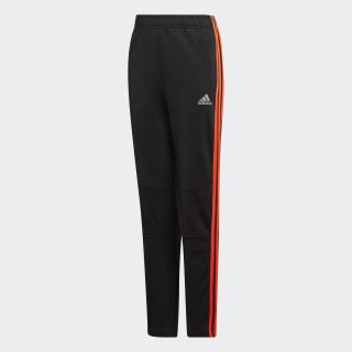 Football Striker 3-Stripes Pants Black / Solar Red DJ1270