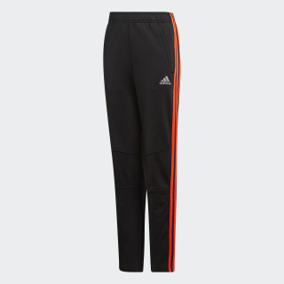 Pantalón Football Striker 3 bandas Black / Solar Red DJ1270