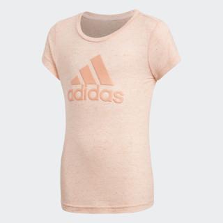 ID Winner T-Shirt Haze Coral / Chalk Coral DJ1389