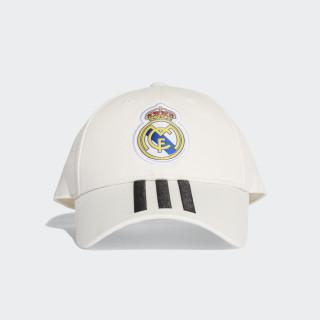 Real Madrid 3-Stripes Hat Core White / Black CY5600