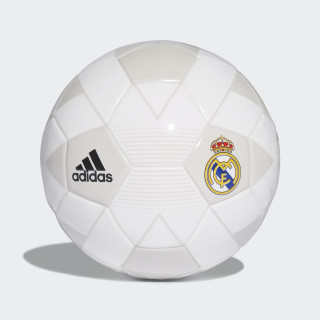 Mini pelota Real Madrid CREAM WHITE/GREY ONE F17/BLACK CW4159