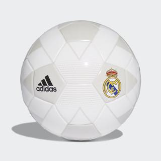 Minibola Real Madrid CREAM WHITE/GREY ONE F17/BLACK CW4159