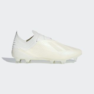 X 18.1 Firm Ground Voetbalschoenen Off White / Ftwr White / Core Black DB2247