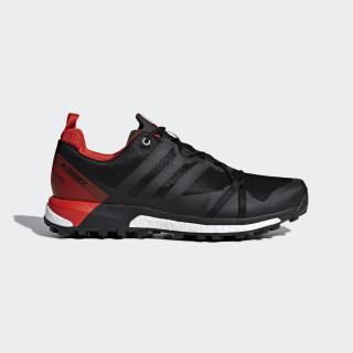Terrex Agravic GTX Shoes Core Black/Carbon/Hi-Res Red CM7610