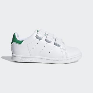 Sapatos Stan Smith Footwear White/Footwear White/Green BZ0520