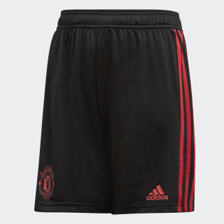 Manchester United Trainingsshorts Black / Blaze Red / Core Pink CW7602