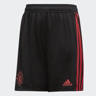 Manchester United træningsshorts Black / Blaze Red / Core Pink CW7602