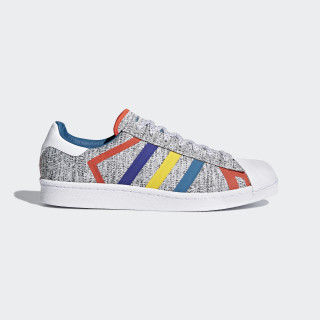 Superstar White Mountaineering Shoes Light Grey Heather / Real Teal / Cloud White AQ0352