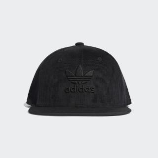 Trefoil Snapback Cap black D98938