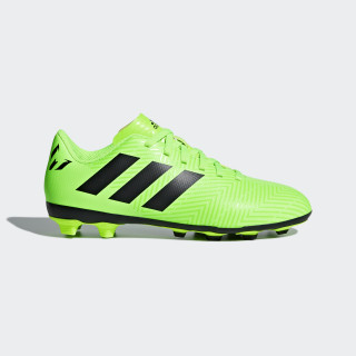 Chuteira Nemeziz Messi 18.4 Fxg SOLAR GREEN/CORE BLACK/SOLAR GREEN DB2371