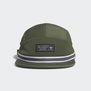 HAT 5PANEL WEBBING BASE GREEN DH2564