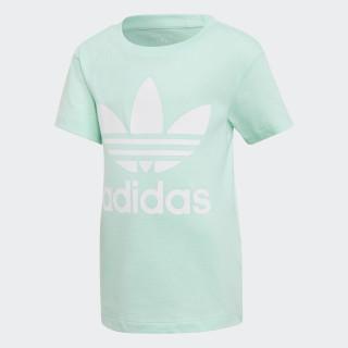 T-shirt Trefoil Clear Mint / White D98853