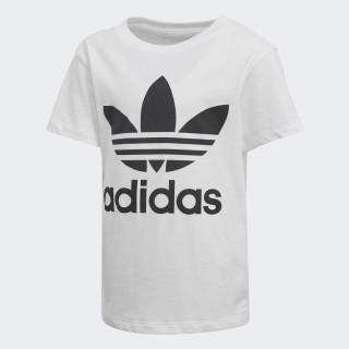 T-shirt Trefoil White / Black D98852