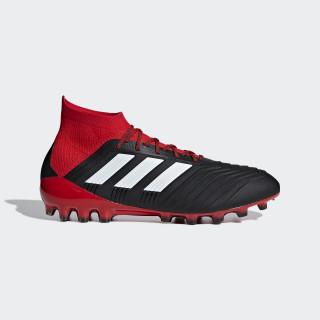 Predator 18.1 Artificial Grass Boots Core Black / Ftwr White / Red BB7746