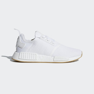 Sapatos NMD_R1 Ftwr White / Ftwr White / Gum 3 D96635