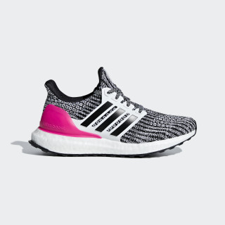 Ultraboost Shoes Cloud White / Core Black / Shock Pink B43508
