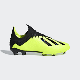 X 18.1 Firm Ground Cleats Solar Yellow / Core Black / Cloud White DB2429