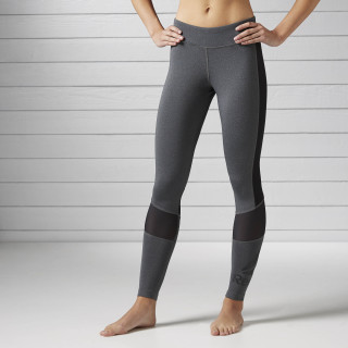 Workout Ready Graphic Legging Dark Grey Heather / Black BK5081