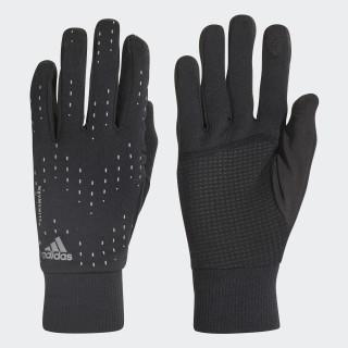 Run Gloves Black / Black / Silver Met. CY6087