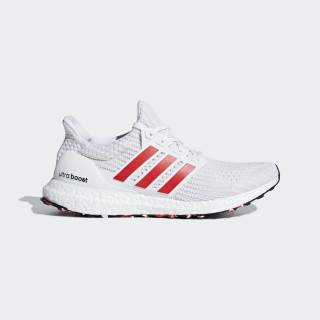 UltraBOOST Shoes Ftwr White / Active Red / Chalk White DB3199