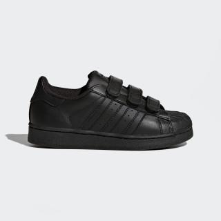 Superstar Foundation Shoes Core Black/Core Black/Core Black B25728