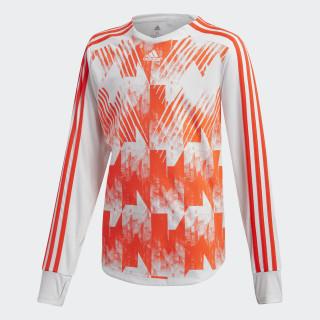 Camiseta Predator White / Solar Red DJ1249