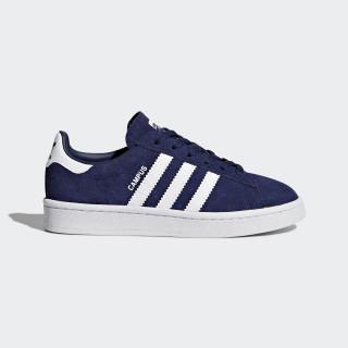 Zapatilla Campus Dark Blue/Footwear White/Footwear White BY9593