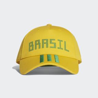 Casquette Brésil Bold Gold / Green CF5199