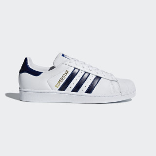 Superstar Shoes Ftwr White / Collegiate Royal / Gold Met. B41996