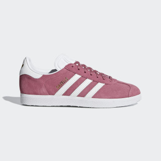 Gazelle Shoes Trace Maroon / Cloud White / Cloud White B41658