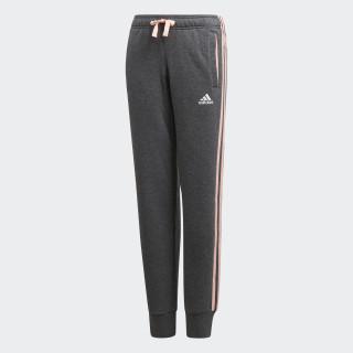 Essentials 3-Stripes Pants Dark Grey Heather / Haze Coral / White DJ1302