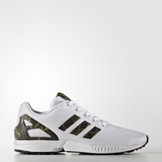 ZX FLUX J Ftwr White / Olive Cargo / Core Black CG3246