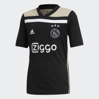 Camiseta segunda equipación Ajax Black / Raw Gold CF5466