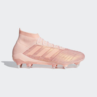 Predator 18.1 Soft Ground Fotbollsskor Clear Orange / Clear Orange / Trace Pink DB2050