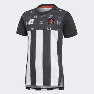 Star Wars T-Shirt Grey/Black/White/Vivid Red CV5971