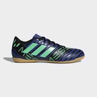 Calzado de fútbol Nemeziz Messi Tango 17.4 Indoor UNITY INK F16/HI-RES GREEN S18/CORE BLACK CP9069