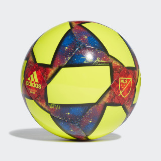 MLS Capitano Ball Solar Yellow / Black / Football Blue DN8695
