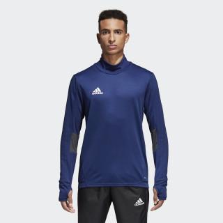 Camiseta manga larga entrenamiento Tiro 17 Dark Blue / Dark Grey / White BQ2751
