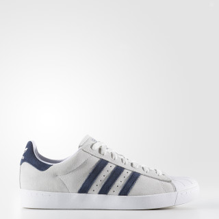 Superstar Vulc ADV Shoes Crystal White / Collegiate Navy / Cloud White BB8609