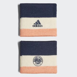 Roland Garros Wristband Ecru Tint/Chalk Coral/Collegiate Navy CF6924