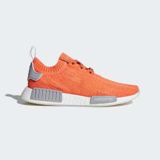Sapatos NMD_R1 Primeknit Trace Orange / Grey Two / Ftwr White B43522