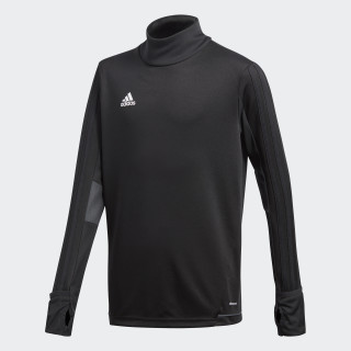 Tiro17 Trainingsshirt Black/Dark Grey/White BK0293