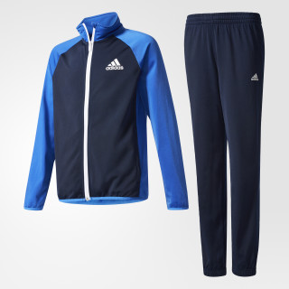 Juego Boys Tracksuit Entry Closed Hem COLLEGIATE NAVY/BLUE/ WHITE AX6328