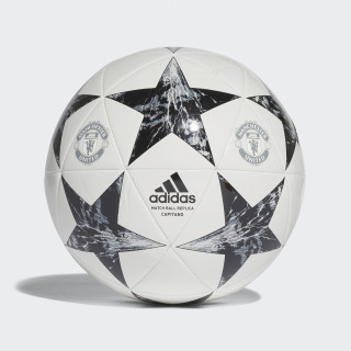 Balón Capitano Finale 17 Manchester United WHITE/BLACK/LGH SOLID GREY/ONIX GREY BS3475